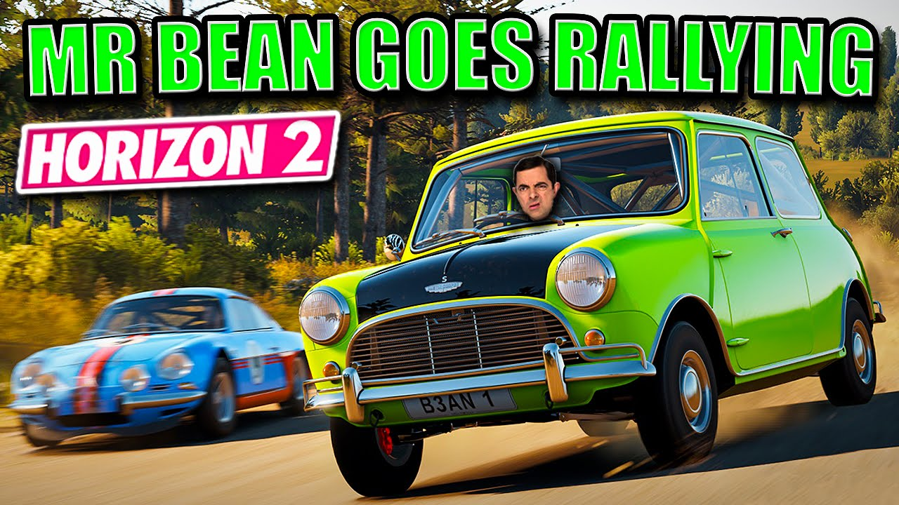 horizon 2 star cars 1 mr bean goes rallying 1965 mini cooper s youtube. Black Bedroom Furniture Sets. Home Design Ideas
