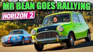 Horizon 2 Star Cars #1 - MR BEAN GOES RALLYING! - 1965 Mini Cooper S