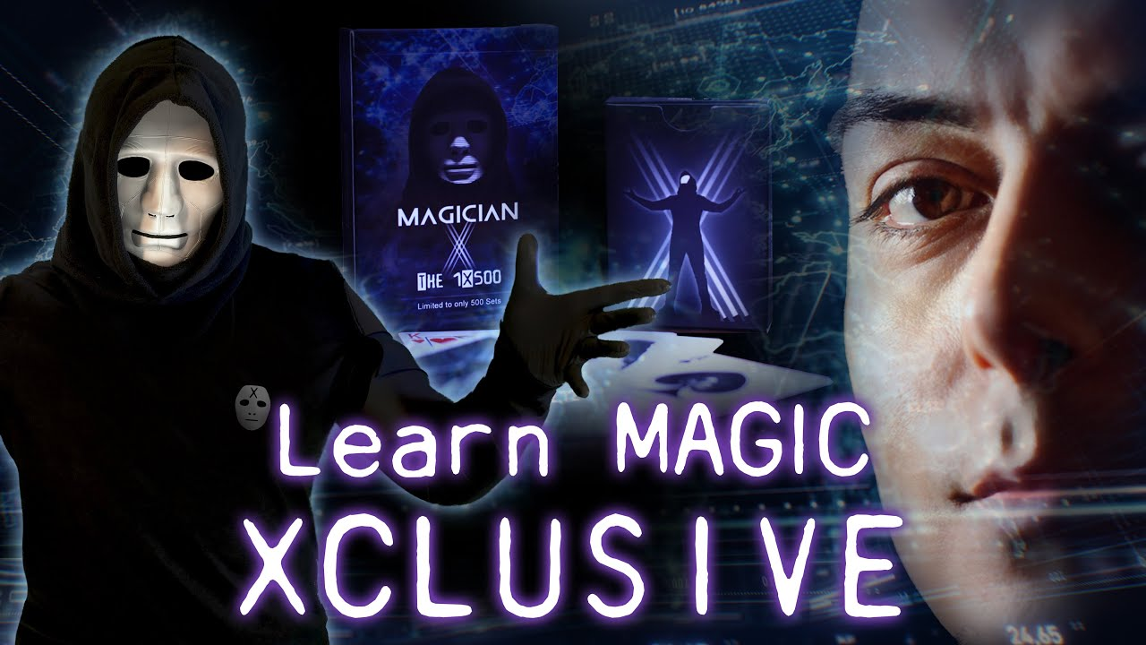 LEARN MAGIC from Marc Spelmann & MAGICIAN 'X'