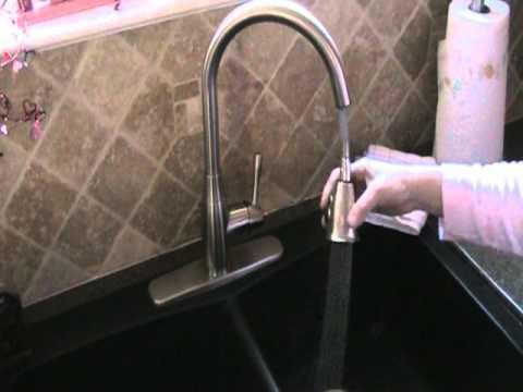aquasource kitchen faucet youtube