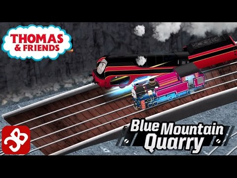 Thomas & Friends: Race On! Blue Mountain Quarry Tracks Unlock - for Kids - iOS/Android - Gameplay