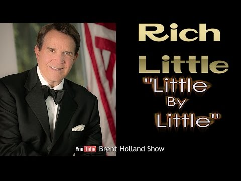 """Rich Little master impressionist 200+ voices Tropicana """"Little By Little"""" Brent Holland Show"""