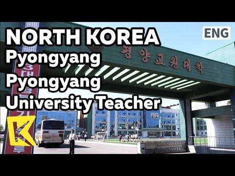 【K】North Korea Travel-Pyongyang[북한 여행-평양]평양교원대학/Pyongyang university teacher/Primary School/Science