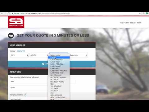 SafeAuto Car Insurance Quote Workflow