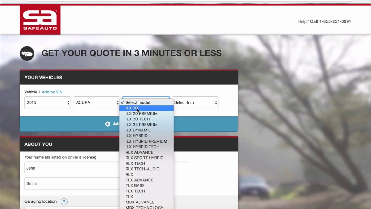 Safe Auto Quote | Safeauto Car Insurance Quote Workflow Youtube
