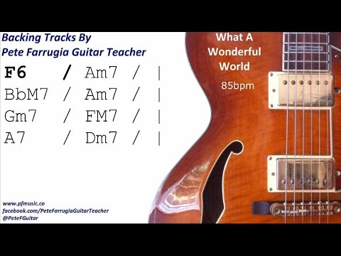 What A Wonderful World Backing Track