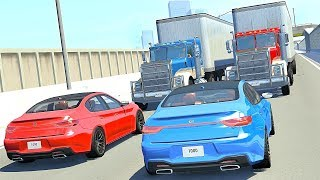 1000 Subscribers Special - Best of Head on High Speed Crashes - BeamNG Drive
