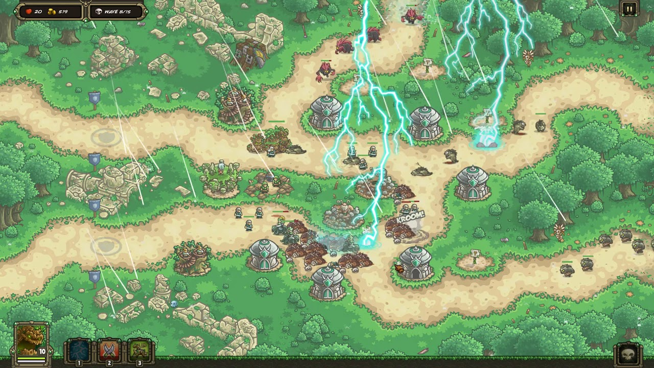 Kingdom Rush: Origins - Galadrian's Wall: Campaign (Veteran Difficulty) on bo2 origins, marvel vs. capcom origins, flight origins, deadpool origins, dayz origins,