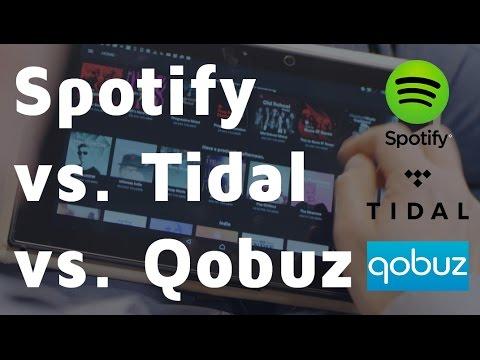 Wat is de beste Streaming dienst voor HiFi-liefhebbers? Spotify vs Apple Music vs Tidal vs Qobuz