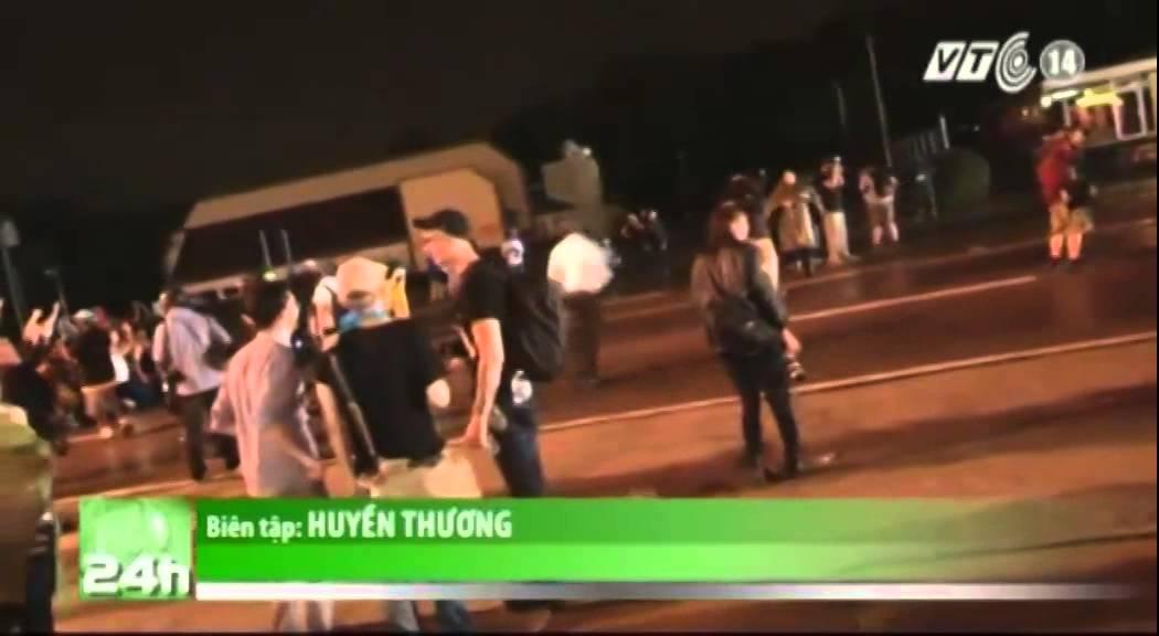 VTC14_Bạo loạn tái phát bất chấp lệnh giới nghiêm tại thị trấn Ferguson, Mỹ