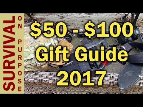 Thumbnail: 13 Gift Ideas Under $100 - Outdoor and Tactical Gift Ideas 2017