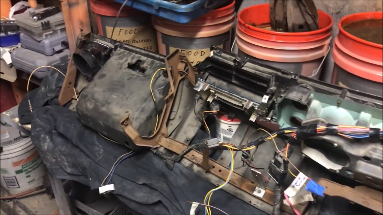 70 72 Chevelle Ss Dash Wiring And Installing To The How Diy 1970 Turn Signal Switch Diagram Youtube