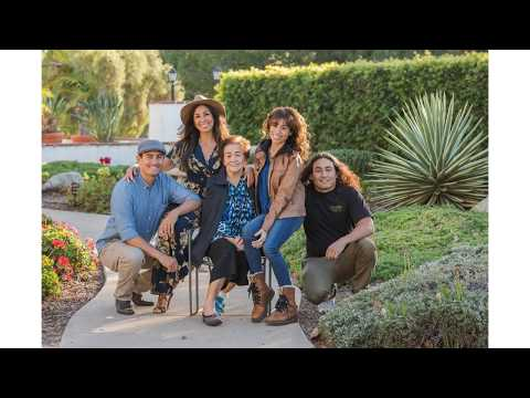 Solis Family   Oceanside San Luis Rey Mission   Marcy Browe Photography