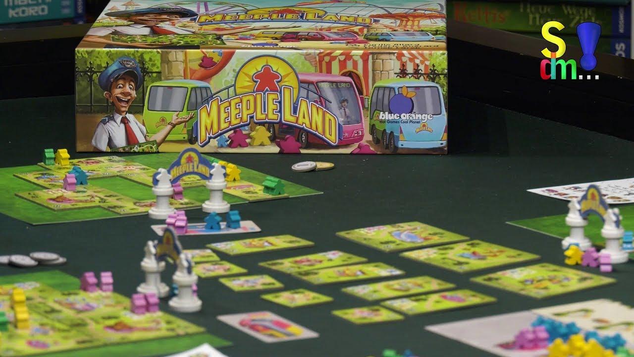 Spiel doch mal MEEPLE LAND! - Brettspiel Rezension Meinung Test #358
