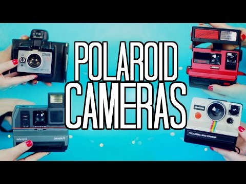 Vintage Polaroid Cameras! My Collection, How to + Where to Find!