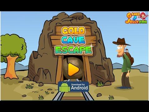 Games2Jolly Gold Cave Escape Walkthrough - G2J...