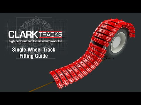 Clark Tracks - Single Wheel Track Fitting Guide