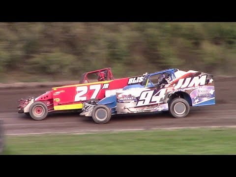 Topless Sportsman Modified B-Main | Genesee Speedway | 9-17-17