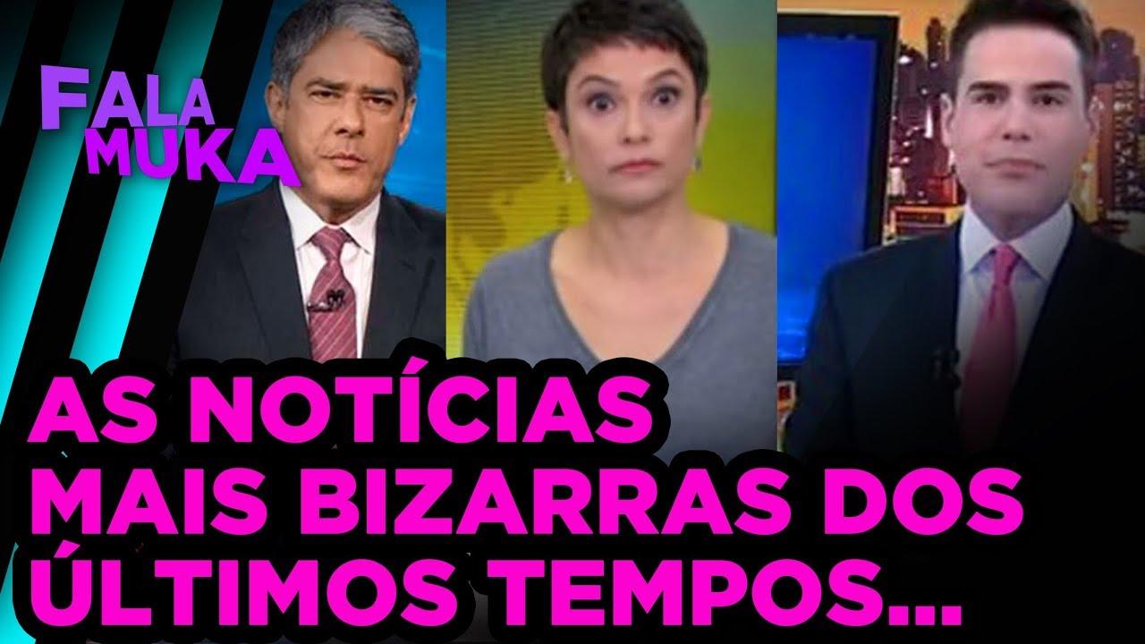 AS NOTÍCIAS MAIS BIZARRAS DOS ÚLTIMOS TEMPOS...