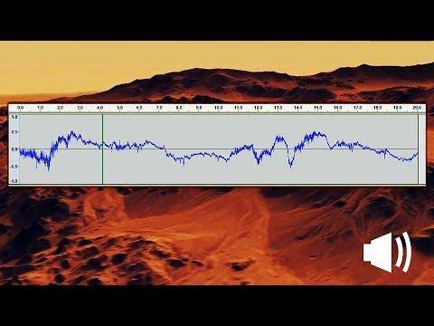 千万别错过!来自火星真实的风声,洞察号意外录下来的
