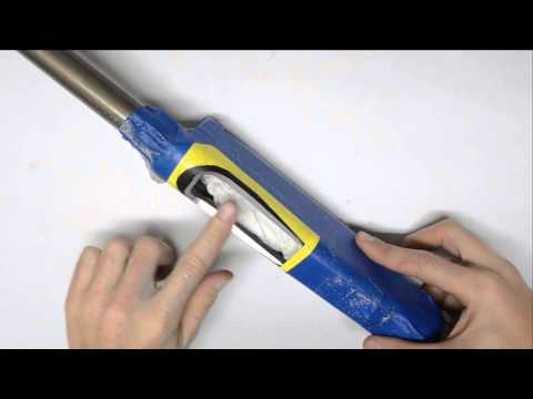 How to open up a shotgun loading port - Franchi Affinity 3-Gun Mods