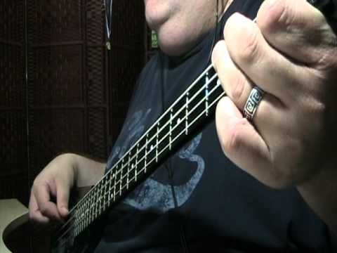 Steve Miller Band Jet Airliner Bass Cover