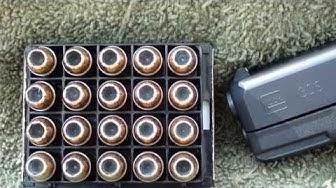 HST 230gr Glock 30S Ballistic Gel Test
