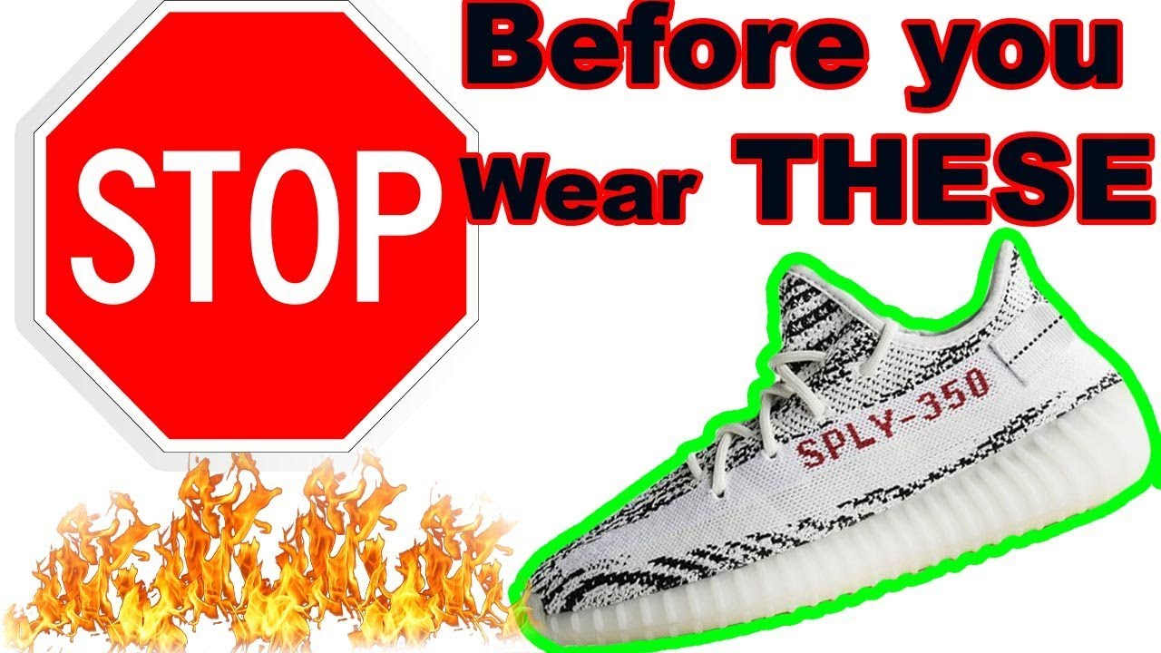 1ded4e3d6 DO NOT WEAR YOUR YEEZYS !  what you didn t know - YouTube