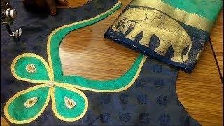 New fashion saree blouse