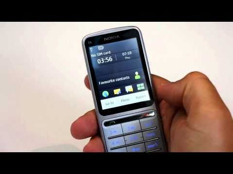 Nokia C3-01 Touch and Type first look