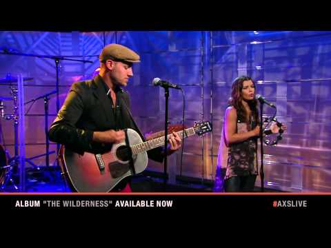 An AXS TV in studio performance