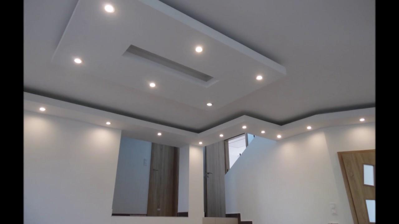 rejtett világítás nappaliban, led világítás - YouTube
