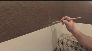 Подкрашивание швов плитки