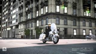 GTA IV Harley Davidson FLH 1200 Police Bike mod