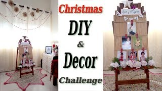Christmas DIY & Decor Challenge hosted by The DIY Mommy