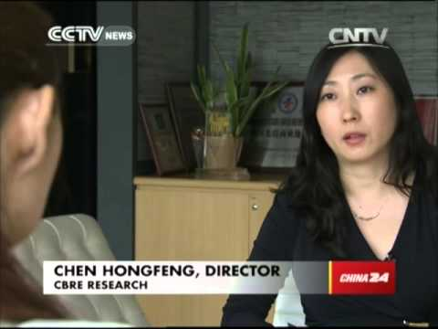 Housing prices falling in China