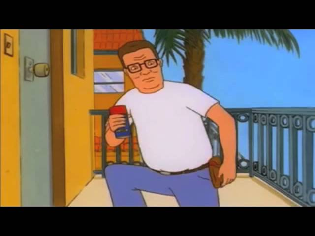 Hank Hill Proves Wd40 Is The Answer To All Problems Youtube