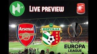 Live 🔴 | Arsenal v Vorskla | Emirates Stadium | Europa League