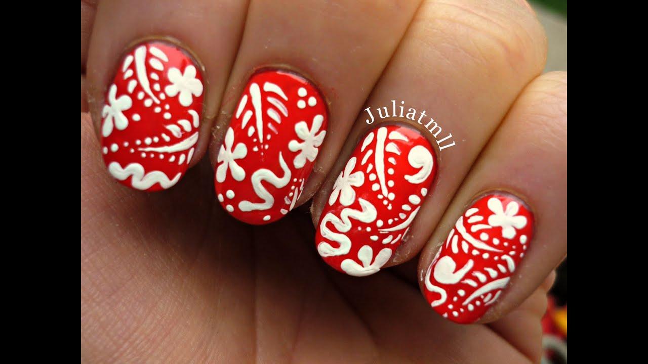 Hawaiian nails - YouTube