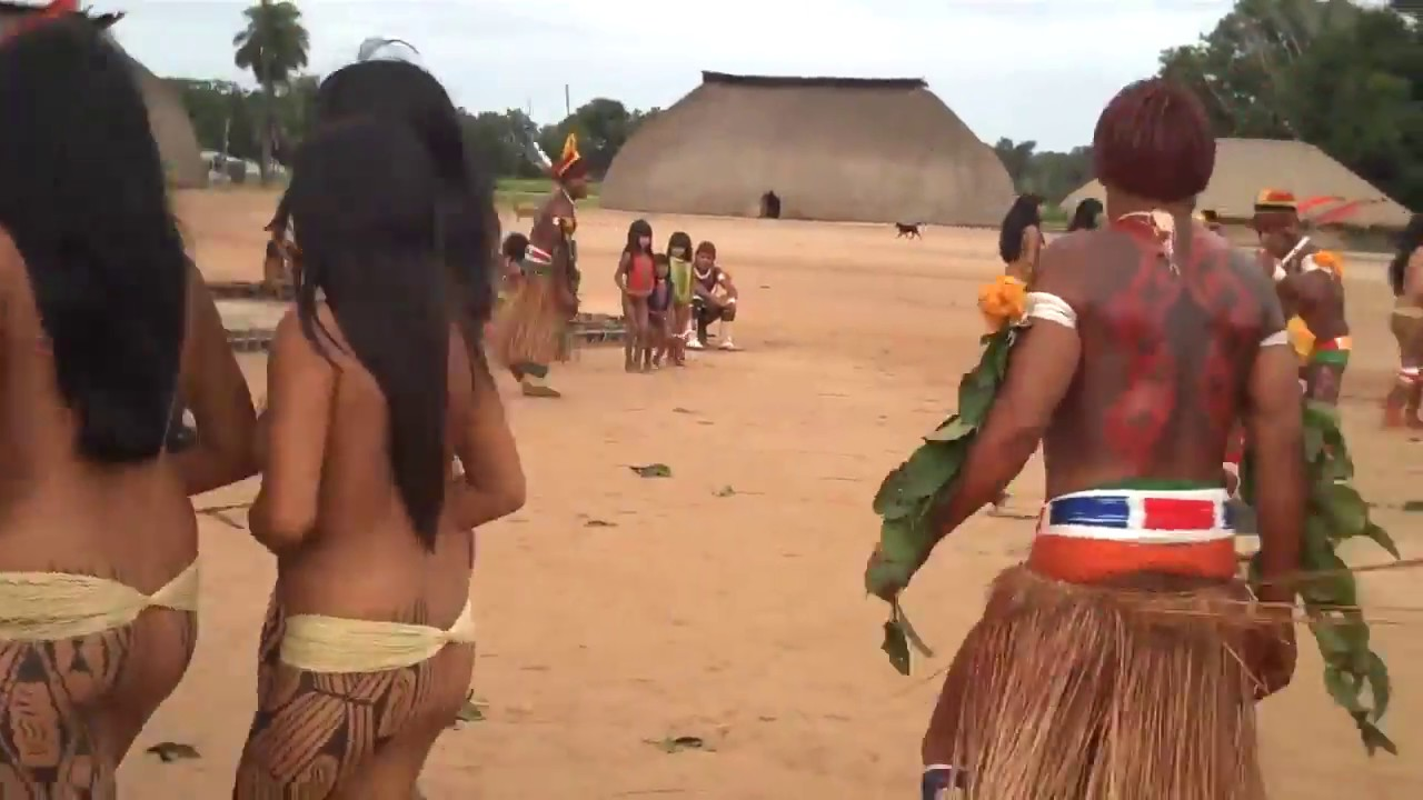 Brazil indigenous dance | Tears Of The Girls In Amazon Rain Forest - 아마존의 눈물 EP.01 [3:14x720p]