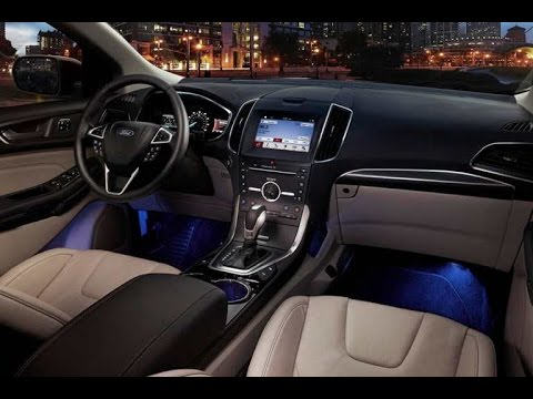 Ford Edge Titanium  Resena Interior