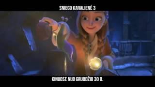 SNIEGO KARALIENĖ 3 - nuotykiai animaciniame filme šeimai nuo Gruodžio 30 dienos