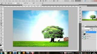 Lesson #3. Два урока в одном)) Макро картинка и лучи солнца