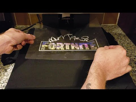Making Fortnite Shirts At Home