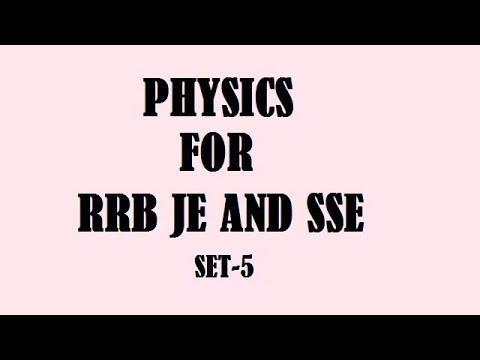 RRB JE AND SSE PREVIOUS YEAR QUESTIONS WITH EXPLANATION