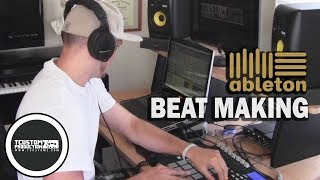 "Making an East Coast Hip Hop Beat ""Celebrate"" w/ Ableton Live, Akai MPD32 & MPK49 - Sampling, 90s"