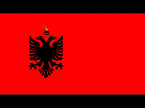Bandera del Estado de Albania bajo ocupación de Alemania (1943-44) - Under the occupation of Germany
