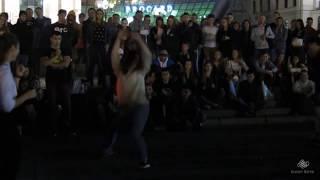 Танцевальные батлы Крещатика, Вечерний Киев часть 9 - Dance Battles Khreshchatyk, Kiev Evening part9