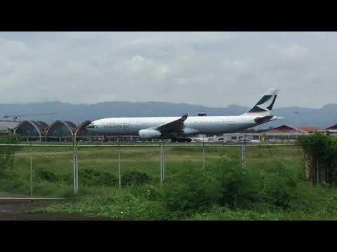 Plane Spotting In Mactan Cebu International Airport