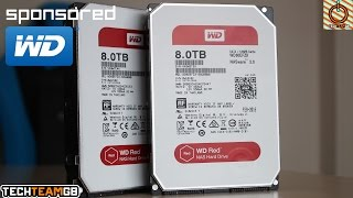 WD Red 8TB Drive Showcase